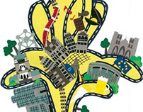 Carte Bruxelles