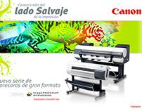 Canon Printers LATAM ( Salvaje Campaign Micro Site )