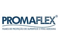 Promaflex, Anúncio. Flyer, Stand