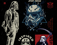 Illustration Stop wars