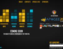 Apogee 2013 Intro Page