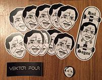 Carl Sagan - Sticker Packs