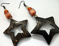 COCO BARK EARRINGS