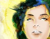 Nelly furtado ilustración