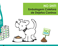 No Shit - Embalagem Coletora de Dejetos Caninos