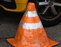 Your Traffic Cones Are In The Way