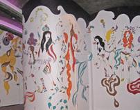 Sugar Restaurant Murals
