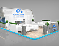 Guardian Exhibition stand, booth