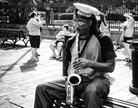 New Orleans in Black and White