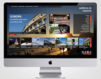 Web Design - Template Travel Agency