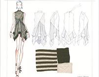 Stripe Jersey Day Dresses