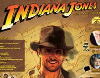 indiana jones - inphographic