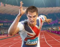 LONDON 2012 game artwork