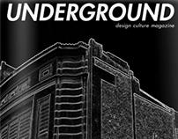 Underground, design culture magazine