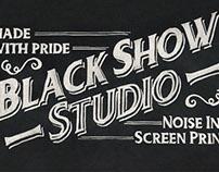 Lettering Black Show Studio