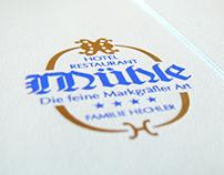 Hotel Restaurant Mühle — Book