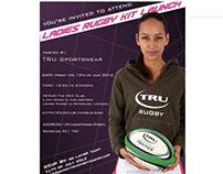 Kitlaunch Flyer for Tru Sportwear Company