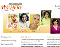Genentech - Systhers Website