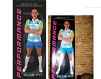 Performance Banner I did for Tru Sportswear