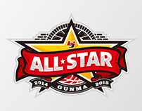 bj league ALLSTAR GAME 2014-2015 logo proposal