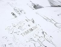Various Concept Sketches