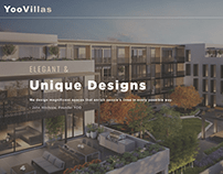 Yoo Villas Homepage Redesign