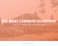 The Most Common Questions About Escrow Answered