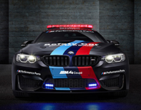BMW M GmbH  |  Official MotoGP M4 Safety Car 2015