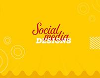 Hekaya social media designs