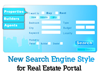 new search engine style