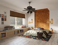 Goodbye, Africa - ethnic bedroom interior design
