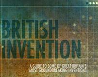 British Invention MicroSite