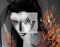 BLEND OF FIRE : BLEND SERIES ADOBE ILLUSTRATOR