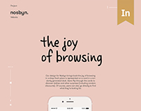 Nosbyn Website