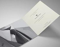 Invitación Ermenegildo Zegna Otoño-Invierno