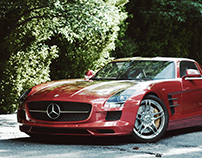 The Stormy Journey 14 - Mercedes-Benz SLS AMG