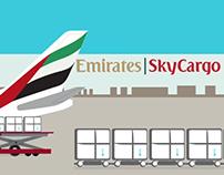 Emirates SkyCargo Infographics