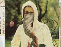 CHRISTOS KOURTOGLOU - collage on postcards