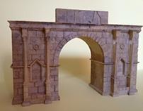 Arc de Triomphe à Volubilis