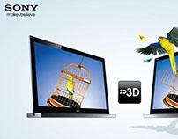 Sony Bravia 2D/3D