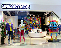 SNEAKYMOB in Chengdu, China.