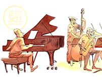 Sketching Guillermo Klein - 48 Jazz Barcelona Festival