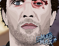 Mad Max Vector Portrait