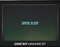 GameBoy SP - Game Ever