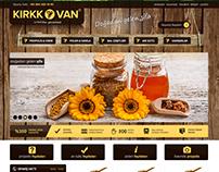Kırkkovan e-commerce web site desing