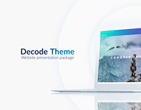 Website Presentation Template