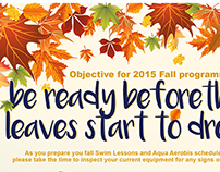 Be ready before the leaves drop!