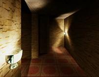 Maze Animation 3d