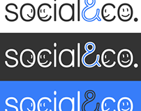 Social & co logo design