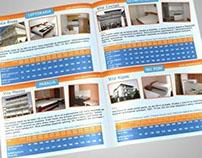 Brochure design for print